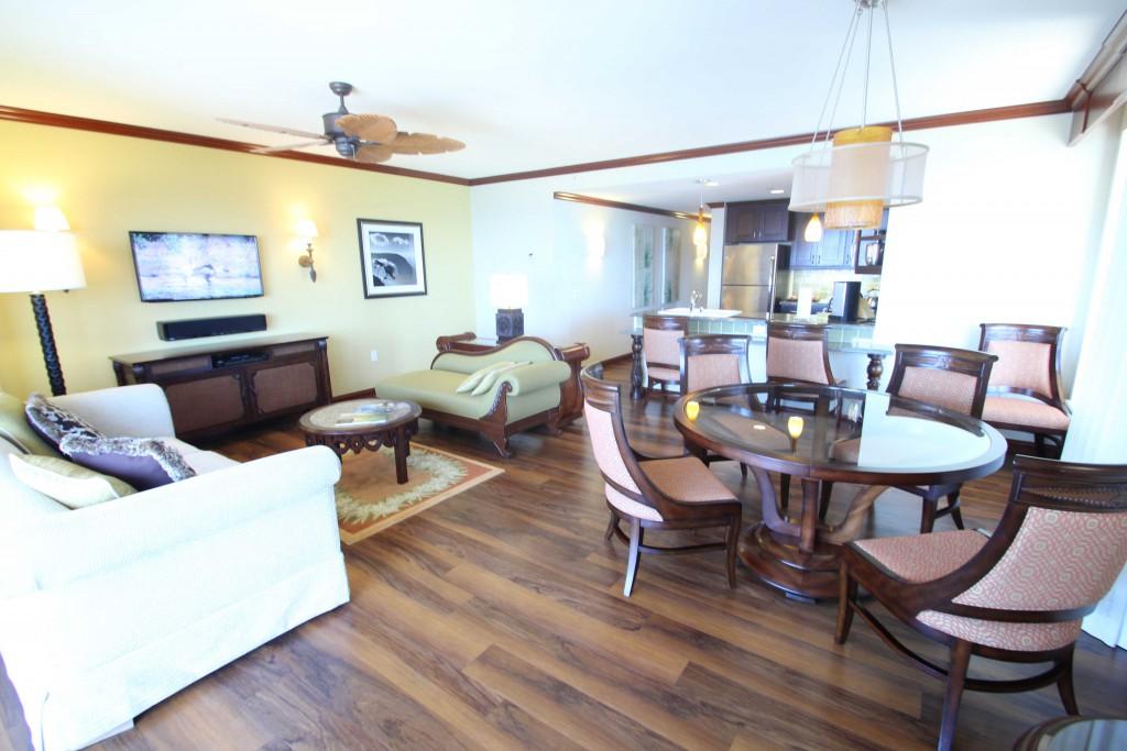 ヒルトンのタイムシェアであるグランドワイキキアンのお部屋。買うならリセール市場で。