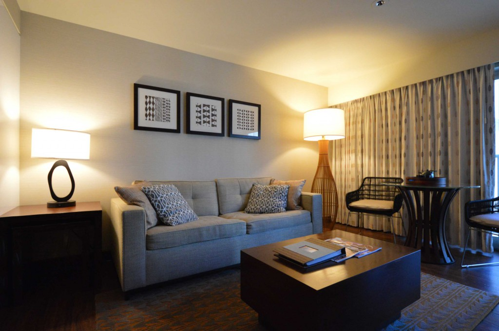 ヒルトンのタイムシェアであるホクラニのお部屋。買うならリセール市場で。
