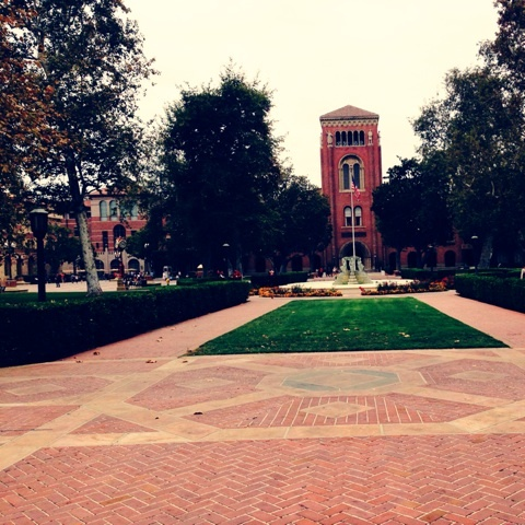 LA 旅行記 大学訪問 USC University of Southern Californi