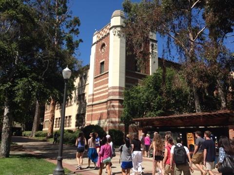 LA 旅行記 大学訪問 UCLA