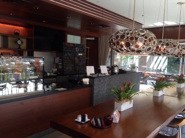 ヒルトン・グランド・バケーションズのタイムシェア・リゾート「ホクラニ・ワイキキ」にあるCafe Mana Mona