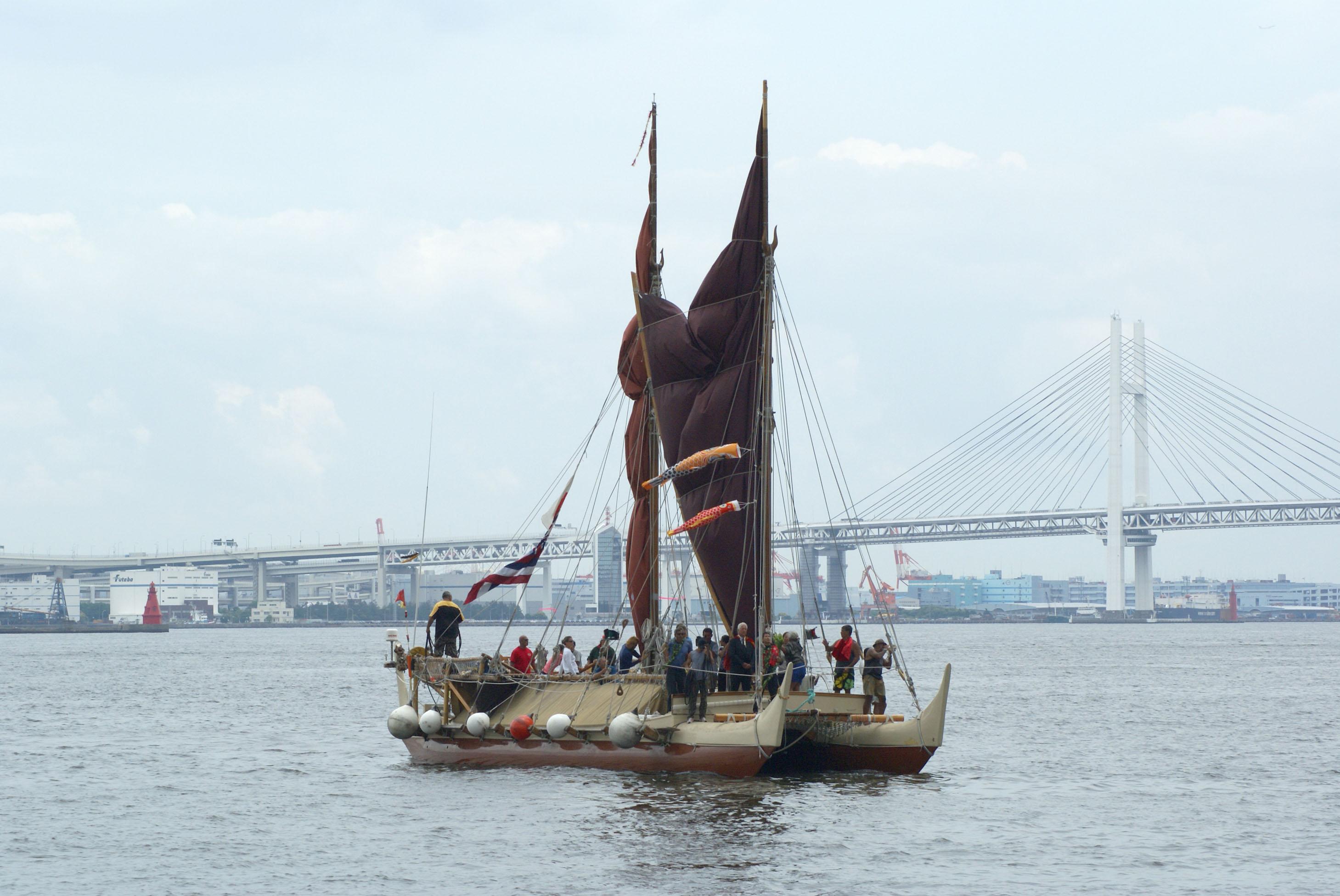 ホクレア号の帰還イベントとアラワイ運河改善プロジェクト