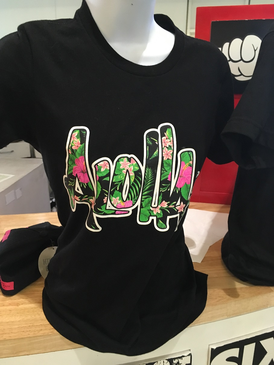 その場で作成!思い出のオリジナルTシャツが作れるお店