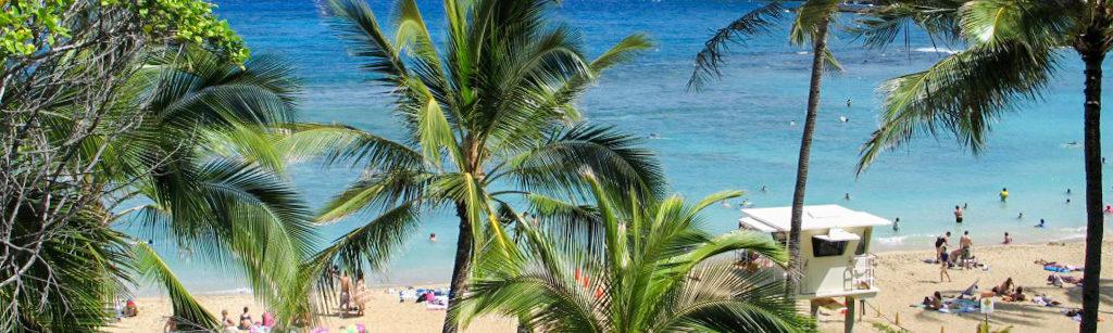 ハナウマ湾の風景
