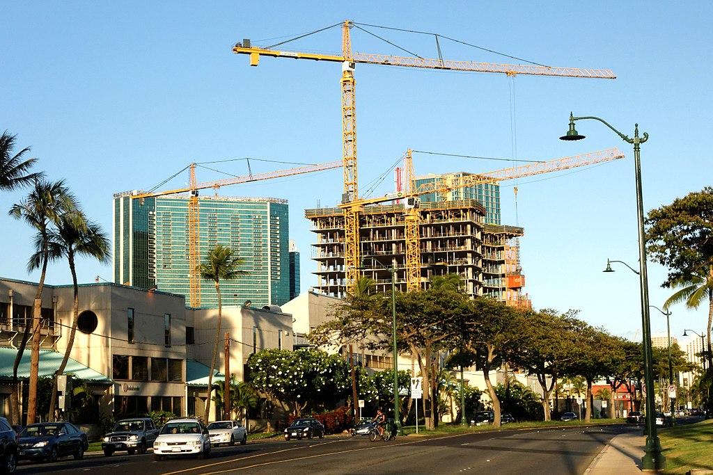 カカアコ地区のコンド開発問題、ワイエア・タワー紛争