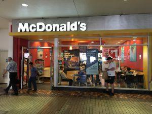 日本とアメリカのマクドナルドを比較してみました