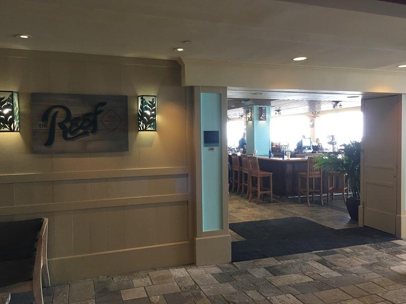 ワイキキで新しくオープンしたオーシャンフロントのレストラン