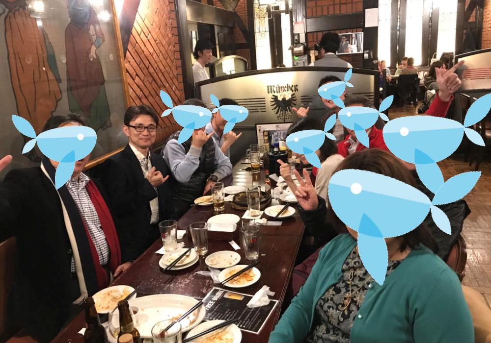 タイムシェアのリセールについてのセミナー後、懇親会を開催