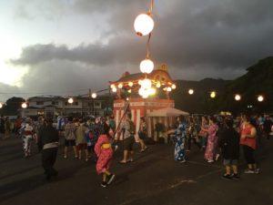 日本の文化 ハワイの盆踊り