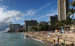 ハワイの海面水位上昇の話し