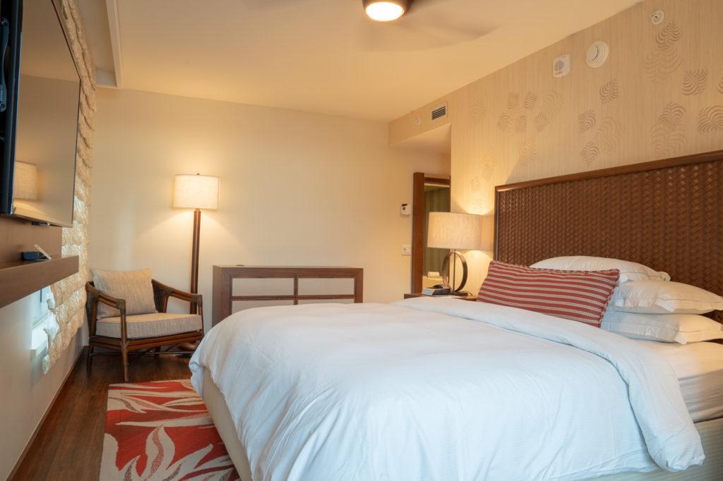 ヒルトン グランドアイランダーのマスター用の寝室