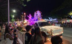 ホノルルシティライツのパレード