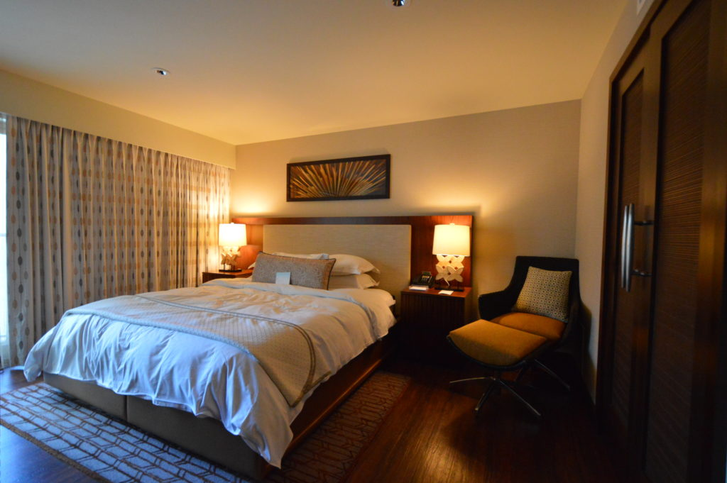 ヒルトンのタイムシェア、ホクラニの寝室