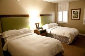 ヒルトンのタイムシェア、ラグーンタワー、オーシャンビューのお部屋の寝室