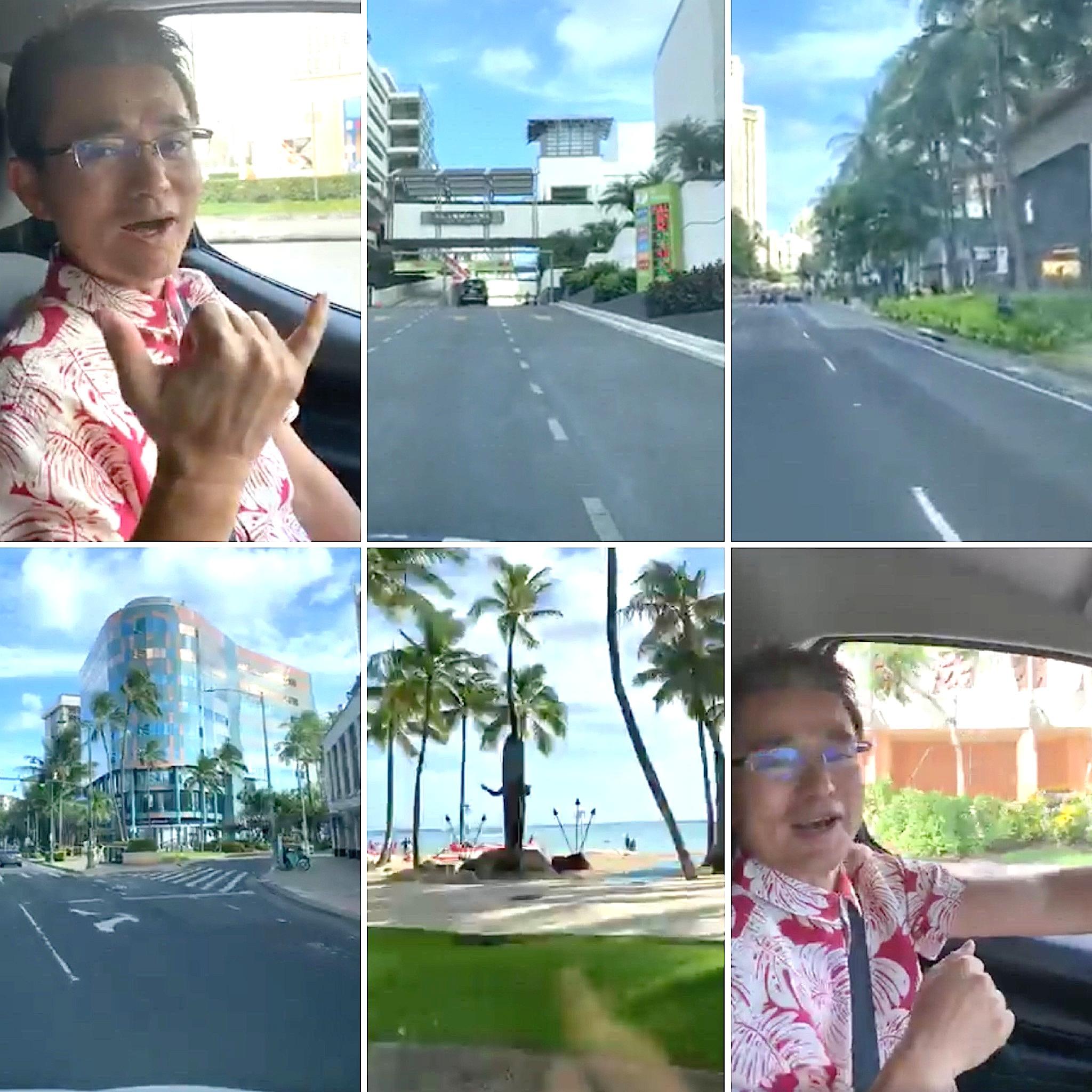 【FBライブ配信動画】ハワイの最新情報とカカアコからワイキキまでの様子