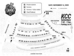 KCC ファーマーズマーケットの地図のサムネイル