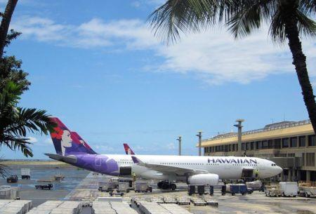 ハワイと日本を結ぶフライトの運航状況11月