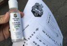 KCCマーケットのオリジナル商品アルコール消毒液