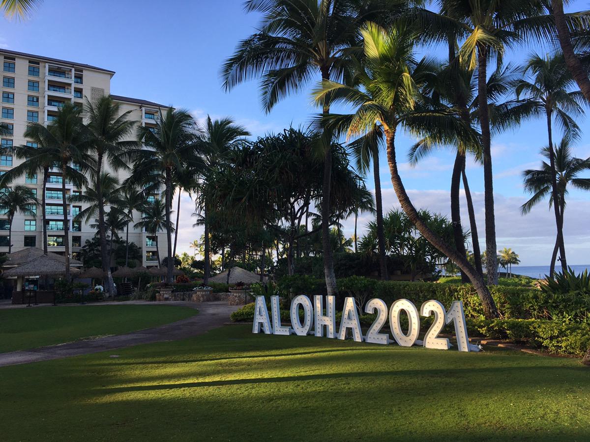 ハワイでのコロナ感染者状況と見通し(2021年1月)