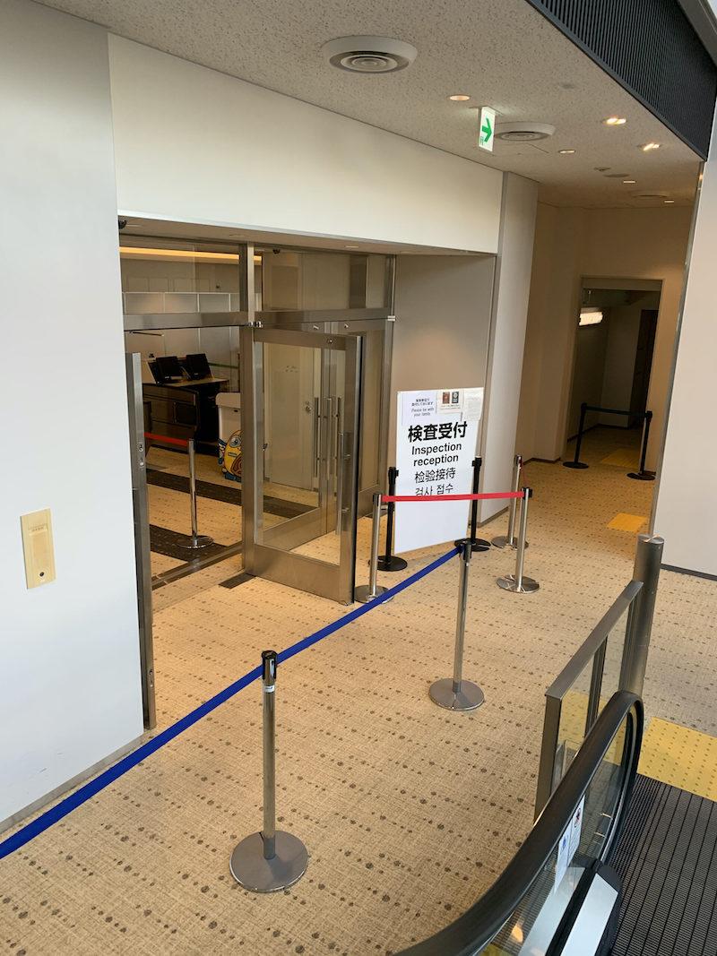 日本へ帰国した際の成田空港でのコロナ検査エリア