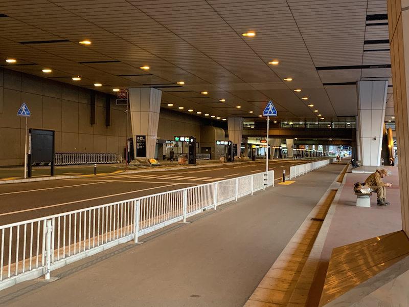 成田空港到着後隔離場所まで