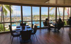 ヒルトン近くの素敵なレストラン「100 Sails」