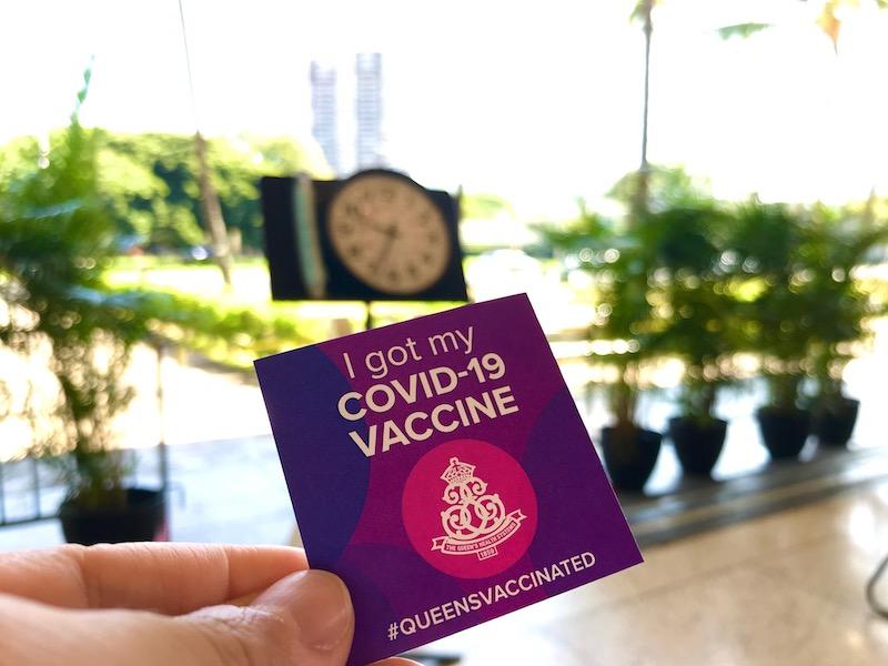 新型コロナのワクチンを受けたスタッフが体験レポート!(2021年4月19日)