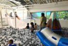 キッズシティ(ホノルル・ワード店)のボールプールと遊具